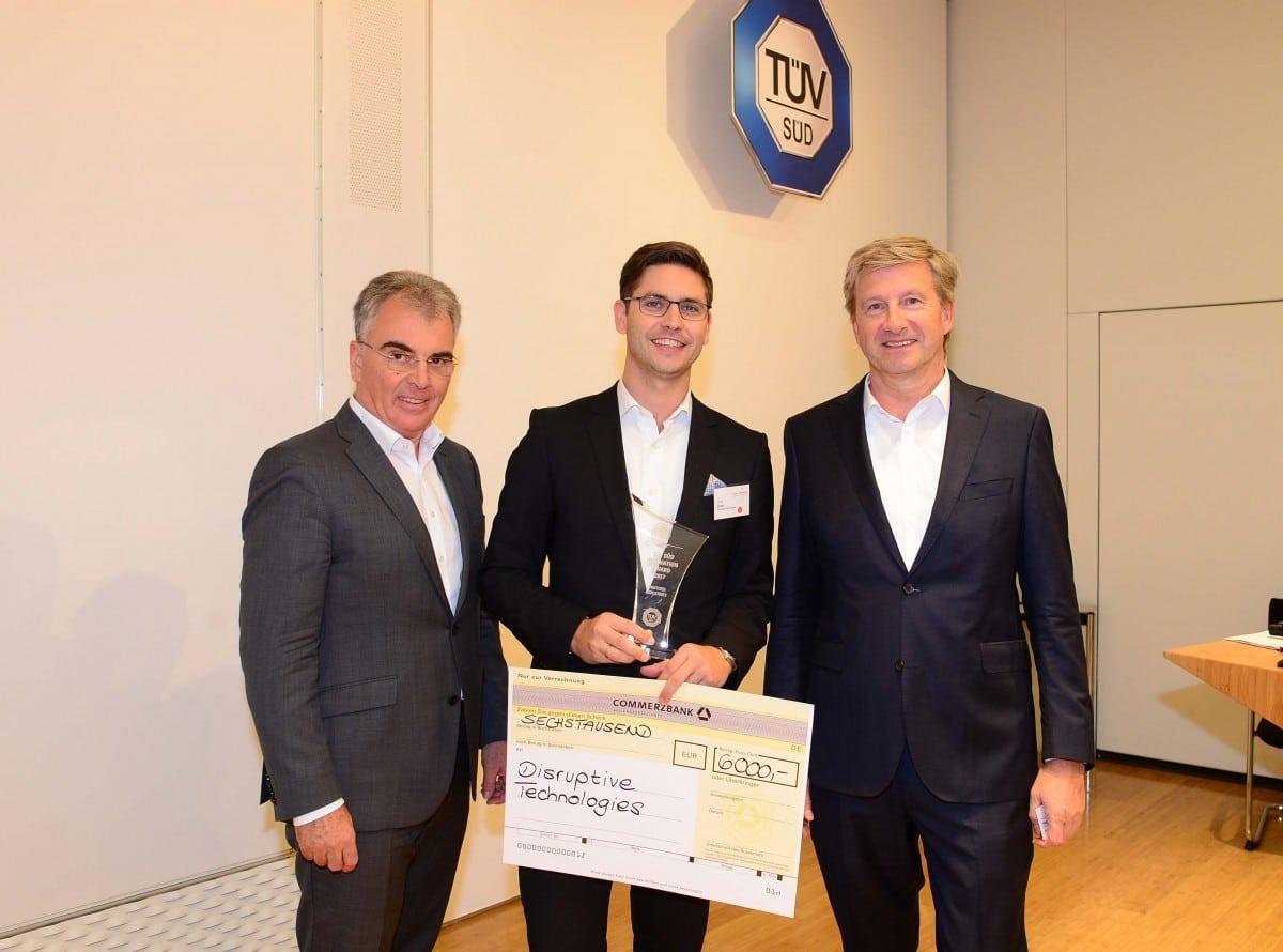 Winner TÜV SÜD Innovation Award for Digitized Industries
