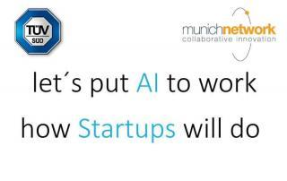 TUEV SUED Let's put AI to work