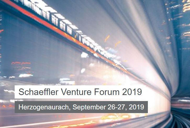Schaeffler Venture Forum 2019