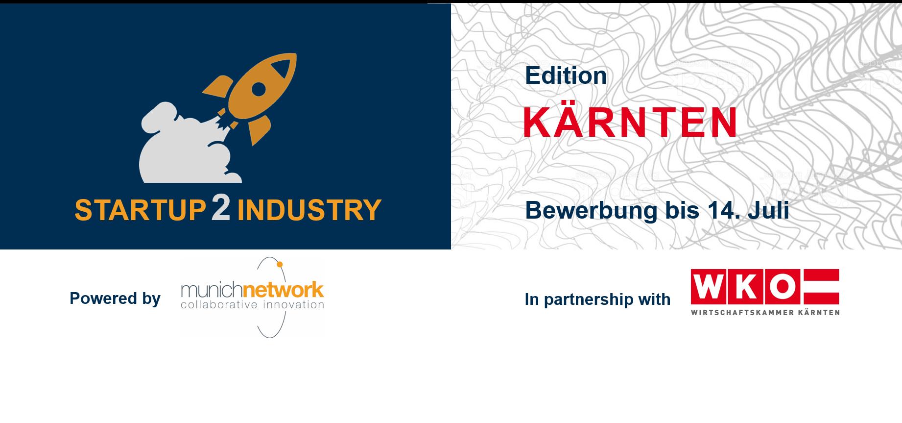 KÄRNTEN Startup2Industry | Munich Network