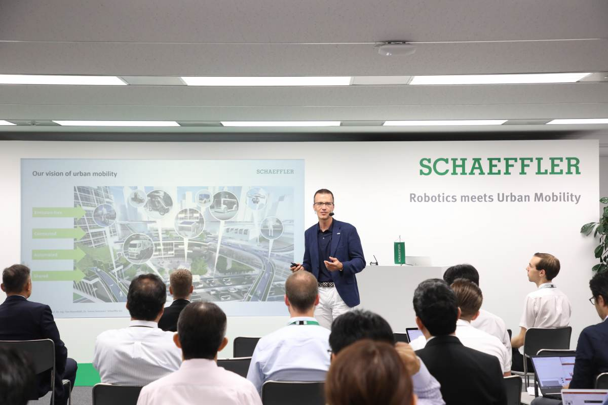 Tech Partnering Schaeffler Japan